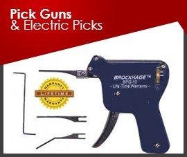 PICK GUNS & ELECTRIC PICKS