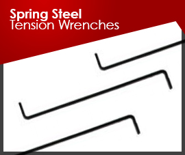 Spring Steel Tension Wrenches