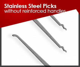Stainless Steel Picks (without-reinforced-handles)
