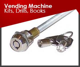 Vending Machine Kits, Drills, Books