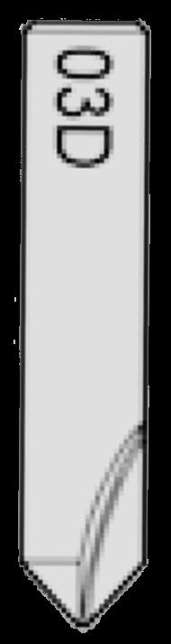 03D Dimple Cutter for Silca Futura