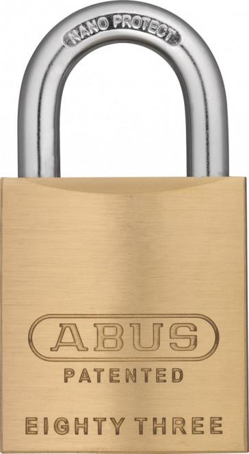 Abus Rekeyable Brass Padlock 83 45 300 S2