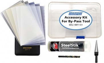 Accessory Kit for BROCKHAGE® By-Pass Tool for Kwikset/Weiser Knobs