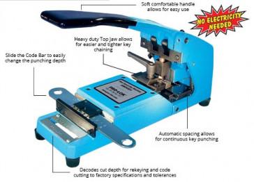 """BluePunch"" Machine for ""KWIKSET"" - BP201KW"