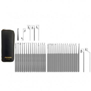 Thirty-Seven Piece Slim Line Lock Pick Set - C3010
