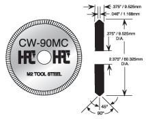 HPC 1200 Series I-Core Cutter