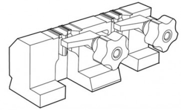 Device for Clamping Tubular Keys for SILCA Twister II (D741428ZB)