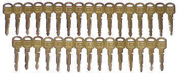 Gm 10 Cut Try Out Key Set Gm10c 32