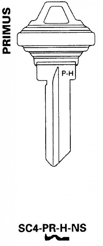 Schlage Primus H Key Blank