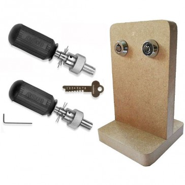 Package Deal! 8 Pin & 7 Pin Tubular Picks & Practice Board