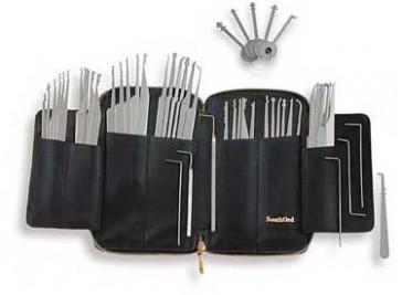 Sixty-nine Piece Lock Pick Set with Metal Handles - MPXS-62
