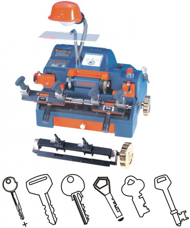 W100a2 Wenxing Key Cutter Dual Key Cutting Machine