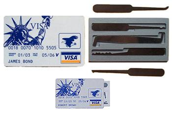 Credit Card Lock Pick Set Wallet Lock Pick Set