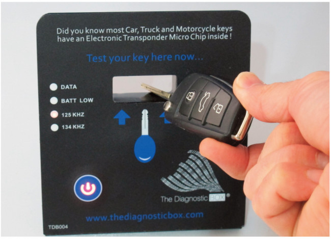 Counter Top Transponder Locator - Tester