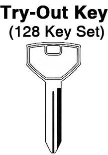Chrysler 1994 All Locks Neon Aero Lock To 73 Y157