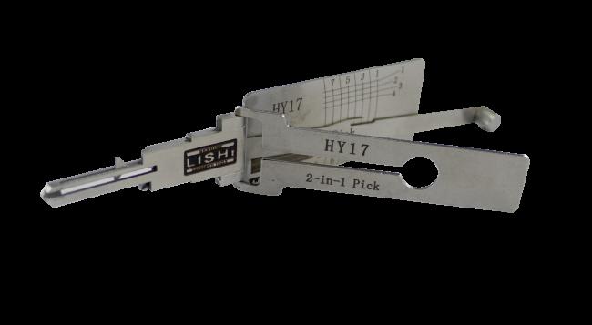 Hyundai / Kia (HY17, HYN15) Lishi 2-in-1 Tool