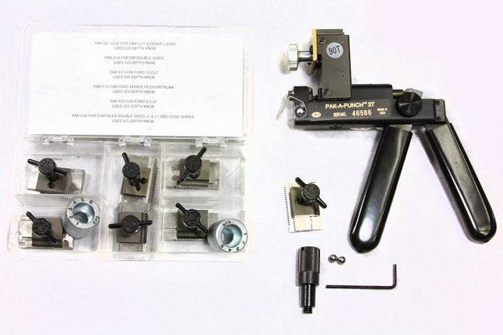 A1 Pak A Punch Key Cutter Key Cutting Machine For Sale