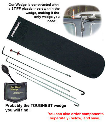 Brockhage Car Door Wedge Kit Auto Lockout Kit
