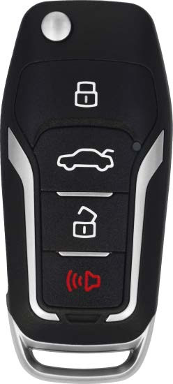 VVDI Ford Style 4-Button Wired Remote Flip Key -by XHorse
