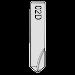 02D Cutter for Silca Futura