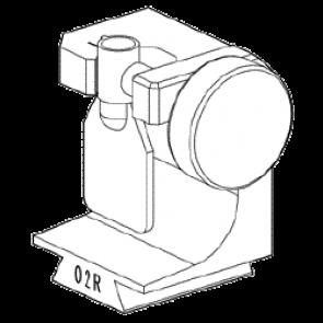 Clamp 02R for Tubular Keys for Silca Futura