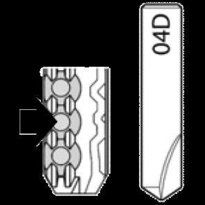 04D Dimple Cutter for Silca Futura