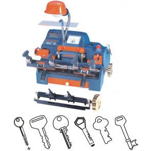 (220V) Dual Cutter Key Duplicating Machine w/KeyFeed