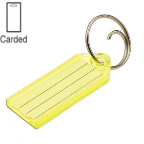 Key Tags w/ Tang Ring (2/Card) -by Lucky Line
