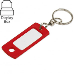 Key Tag w/ Swivel Ring Assorted Display Box (200/box) -by Lucky Line