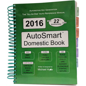 2016 AUTOSMART BOOK SET - Foreign & Domestic Book