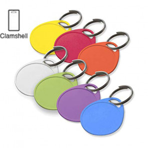 Round Label-It™ Plastic Tags Assorted (25/PK) -by Lucky Line