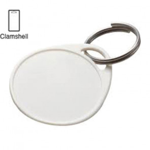 White Round Label-It™ Plastic Tags (25/PK) -by Lucky Line