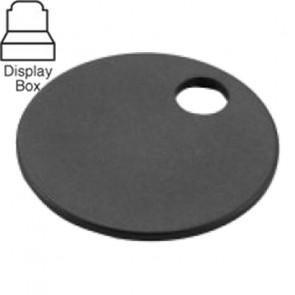 1-1/4″ Black Aluminum Tags Display Box (100/Box) -Lucky Line