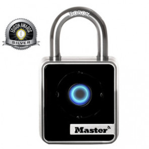 1-29/32in (47mm) Wide Bluetooth Smart Padlock -by Master Lock