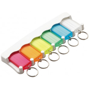 6-Key Tag Rack -by Lucky Line