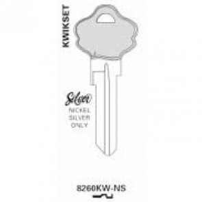 Kwikset KW10 Nickel Silver Keyblanks