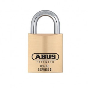 ABUS 83KnK/45 S2 Brass Padlock w/ Adaptors