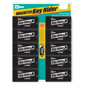 Large Magnetic Key Hider Display (10/Cd) -Lucky Line