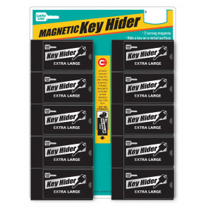 X-Large Magnetic Key Hider Display (10/Cd) -Lucky Line