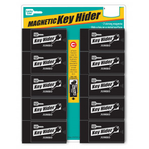 Jumbo Magnetic Key Hider Display (10/Cd) -by Lucky Line