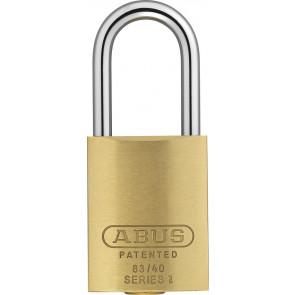ABUS Rekeyable Brass Padlock 83/40 - 300 S2