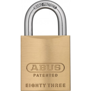 ABUS Rekeyable Brass Padlock 83/45 - 3000 S2
