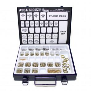 ASSA 600, ASSA Twin, V-6 Keying Pin Kit by LAB
