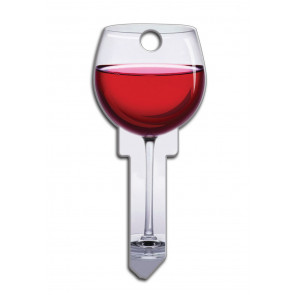 Key Shapes KW1/11 Red Wine (5/Box) -by Lucky Line