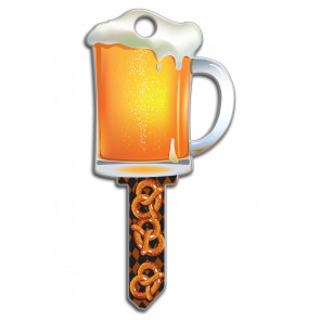 Key Shapes KW1/11 Beer Mug (5/Box) -by Lucky Line