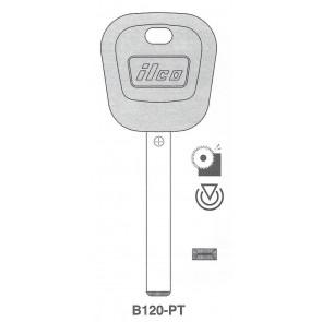 GM (B120-PT, B121-PHT) 46 Circle+ Transponder Key