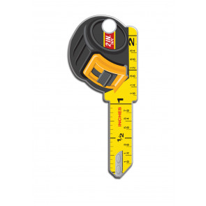 Key Shapes KW1/11 Tape Measure (5/Box) -by Lucky Line