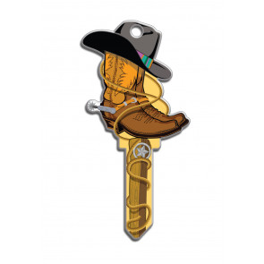 Key Shapes KW1/11 Cowboy (5/Box) -by Lucky Line