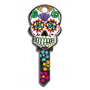 Key Shapes KW1/11 Sugar Skull (5/Box) -by Lucky Line
