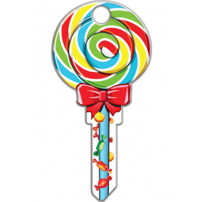 Key Shapes KW1/11 Lollipop (5/Box) -by Lucky Line